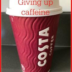 Giving up caffeine