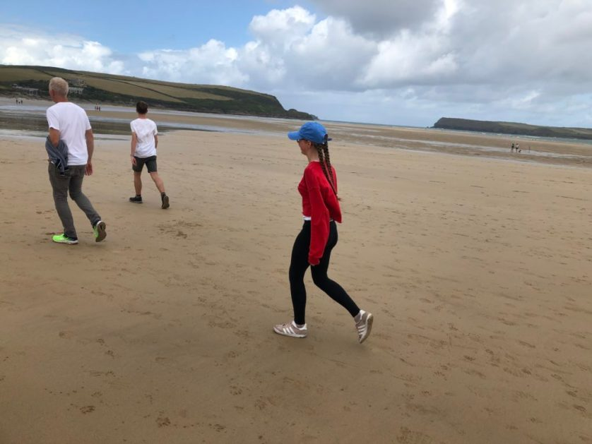 Walking, South West Coast Path, Son, Husband, 365