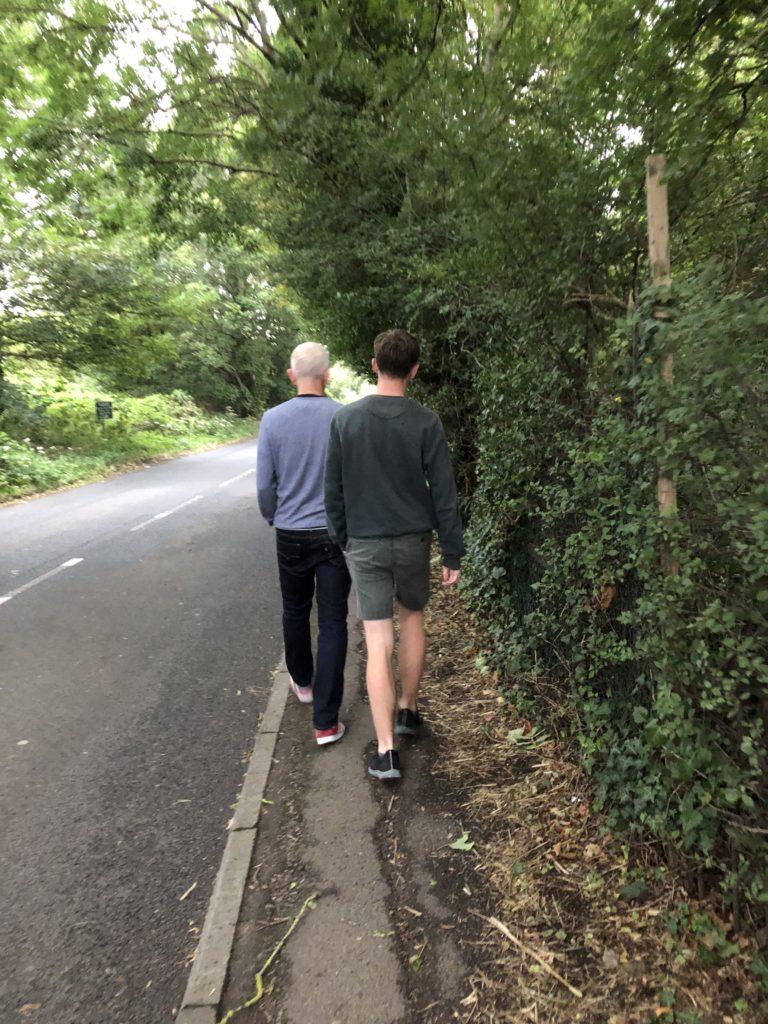 Walking, Husband, Son, 365