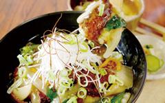 豆腐ハンバーグの和風あんかけ丼