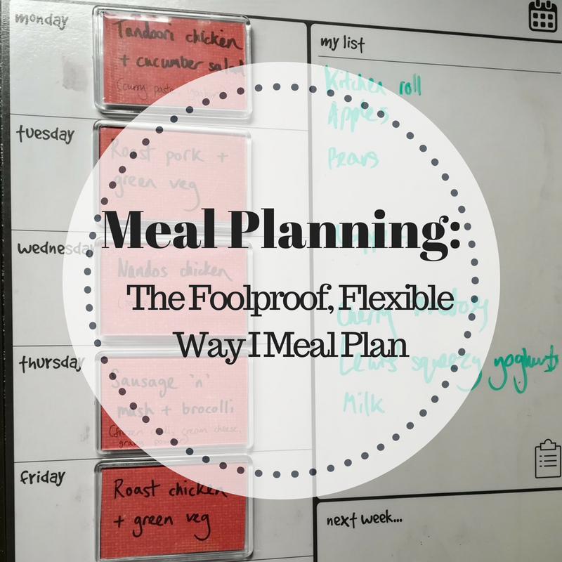 Meal planning – the foolproof, flexible way I meal plan