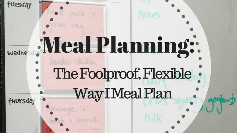 Meal Planning: the foolproof, flexible way I meal plan