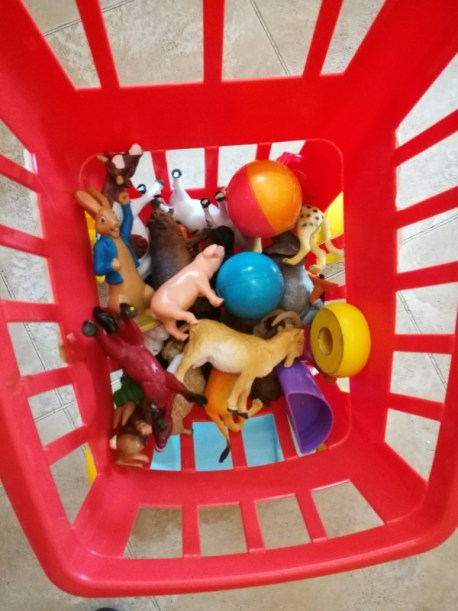 tidying up with kids