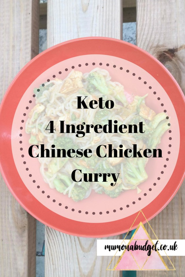 keto chinese chicken curry