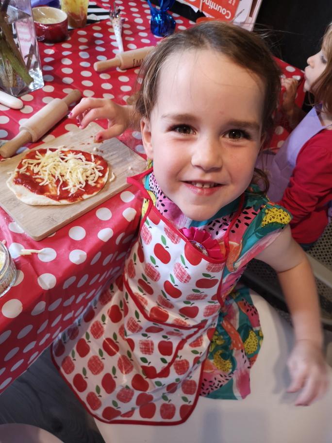 Pizza Party for Kids: Celebrating Lauren's 4th Birthday
