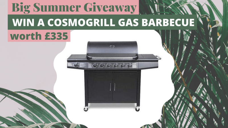 Blogger Summer Giveaway: Win a BBQ Worth £335