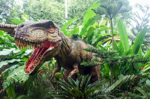 dinosaur parks in the uk