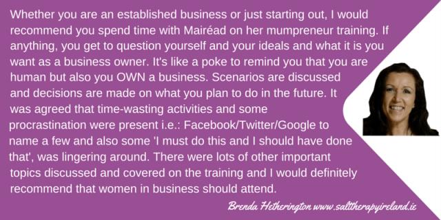 Brenda Hetherington Testimonial