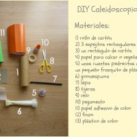 DIY Caleidoscopio casero