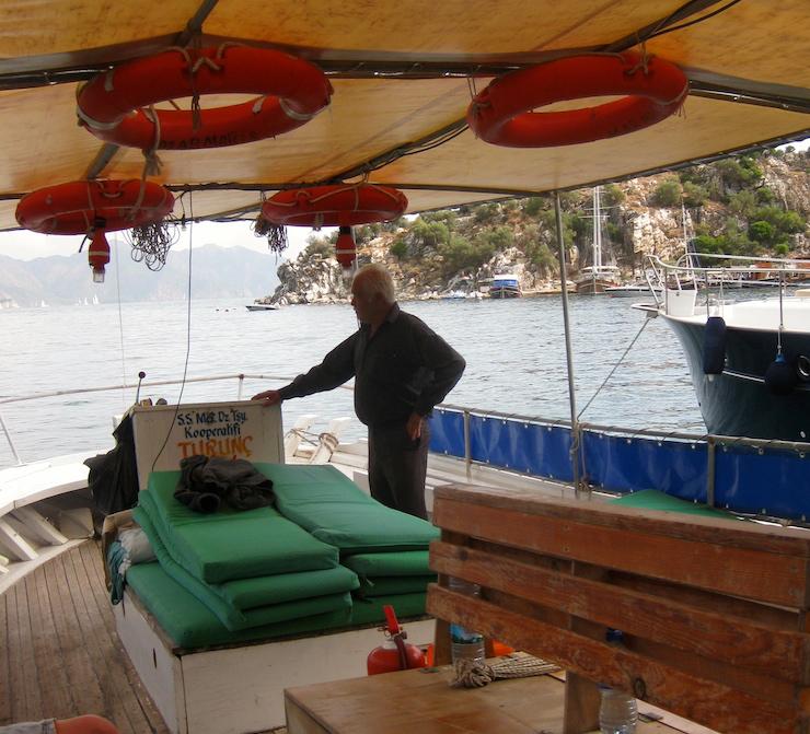 Boat to Marmaris. Copyright Gretta Schifano