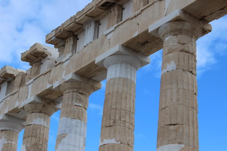 Pantheon, Athens. Copyright Gretta Schifano