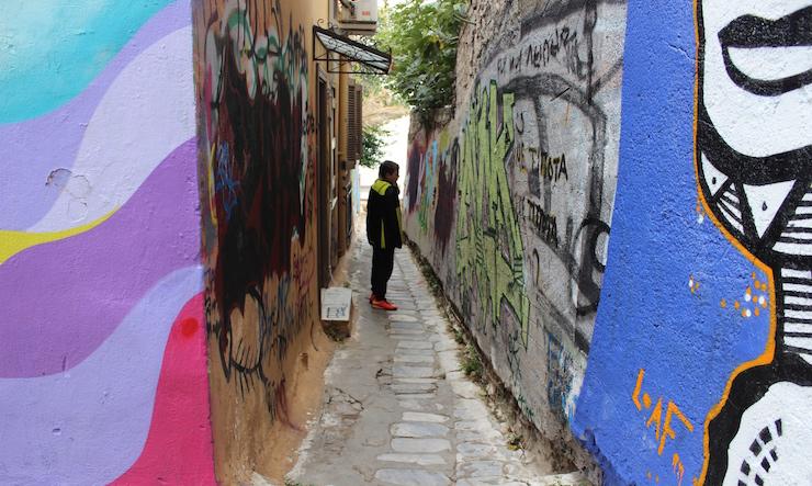 Athens street art. Copyright Gretta Schifano