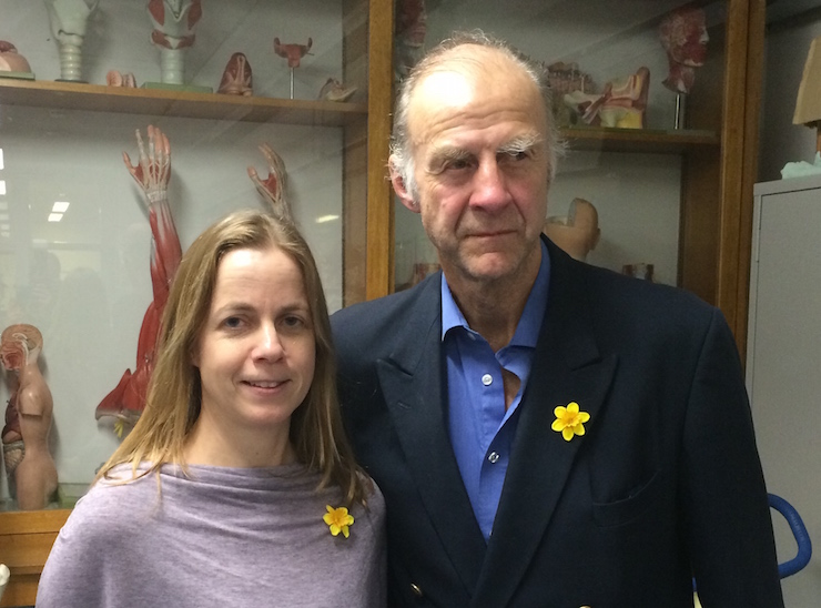 Me with Sir Ranulph Fiennes