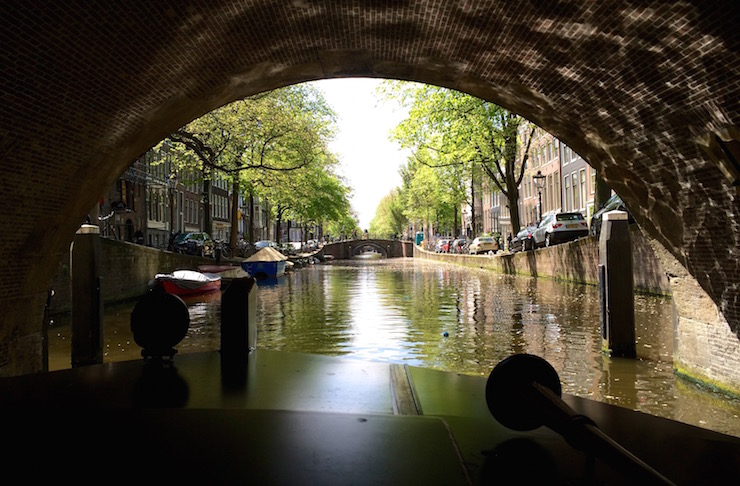 Friendship boat tour, Amsterdam. Copyright Gretta Schifano