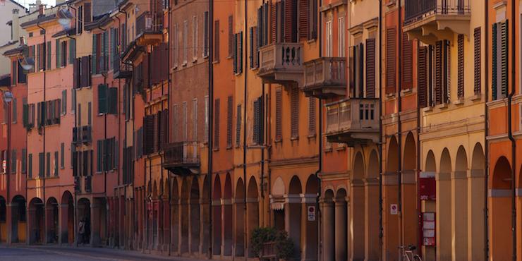 Bologna i miei portici. Copyright Francobraso