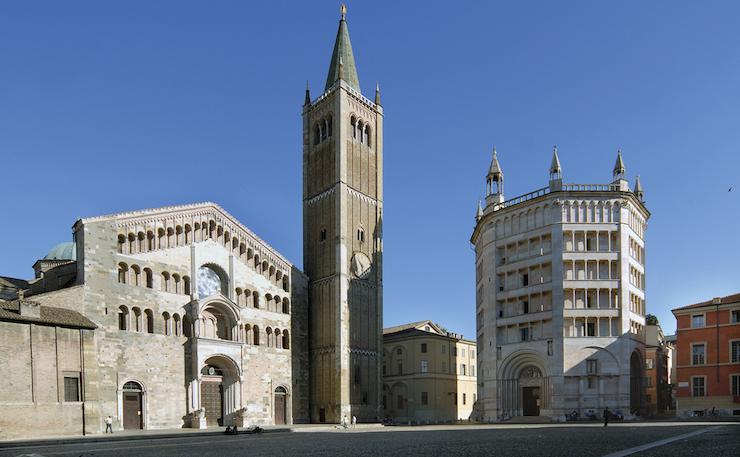 Parma - Piazza Duomo. Image courtesy of Emilia Romagna tourism