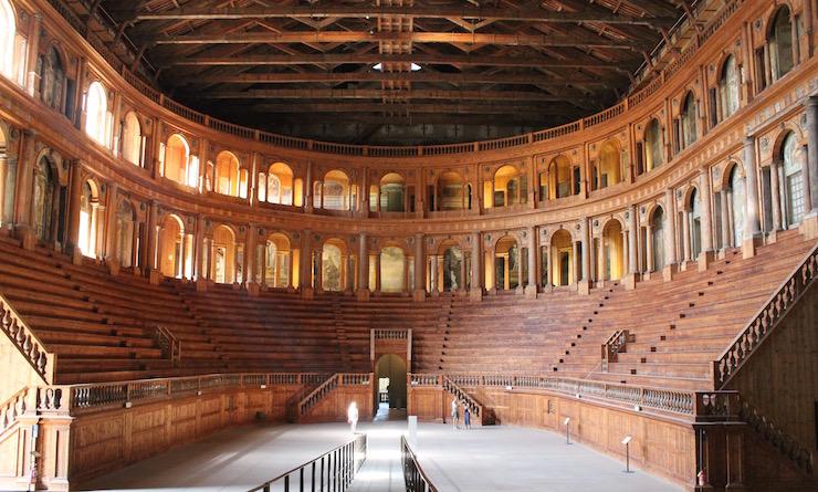 Teatro Farnese, Parma. Copyright Gretta Schifano