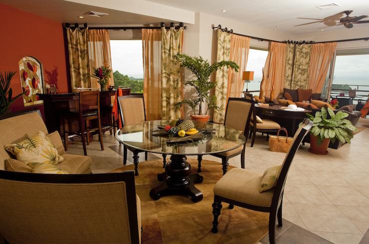 Vista Master Suite living room, Parador Resort & Spa. Image courtesy of Parador Resort & Spa