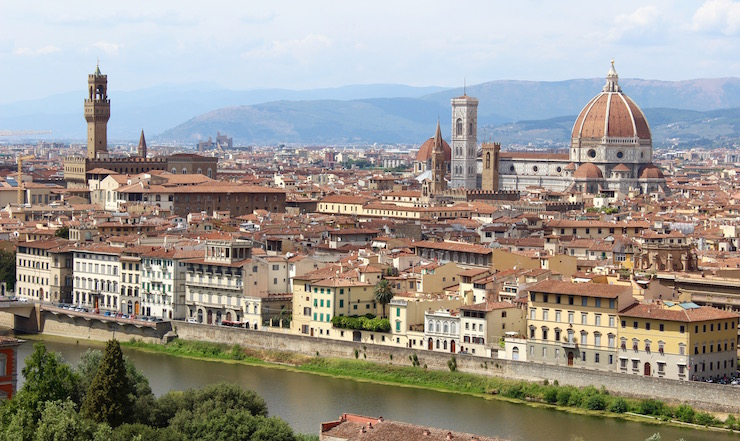 View of Florence. Copyright Salvatore Schifano