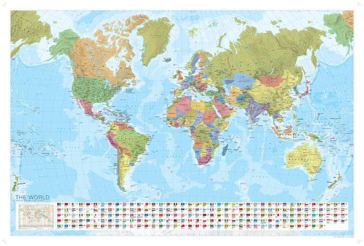 Marco Polo World Map - image courtesy of Marco Polo