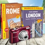 Marco Polo giveaway: camera, guides and maps