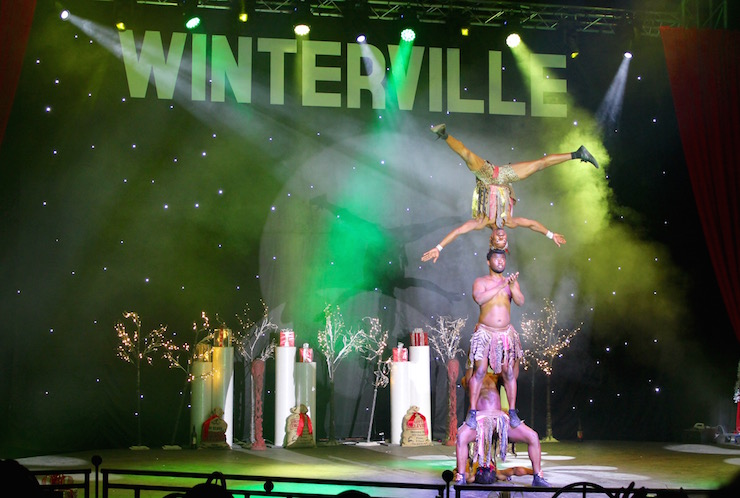 African Whirlwind circus troupe, Winterville. Copyright Gretta Schifano