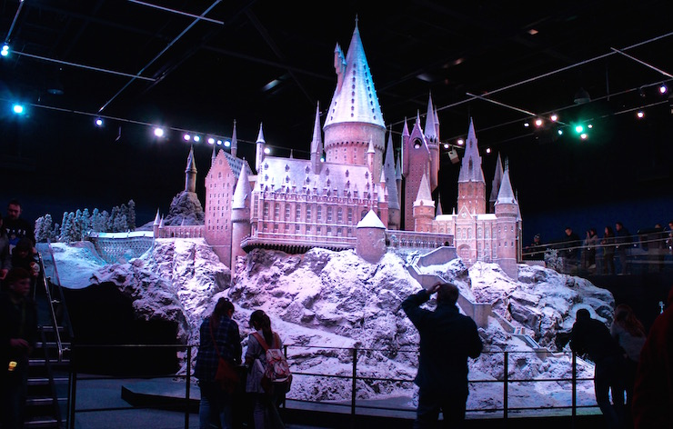 Scale model of Hogwarts Castle. Copyright Gretta Schifano