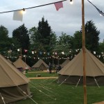 Glamping at Chessington World of Adventures