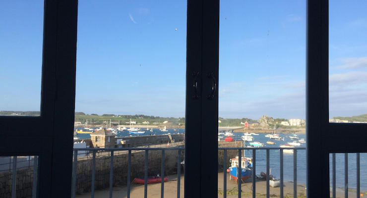 View from The Mermaid Inn, Isles of Scilly. Copyright Gretta Schifano
