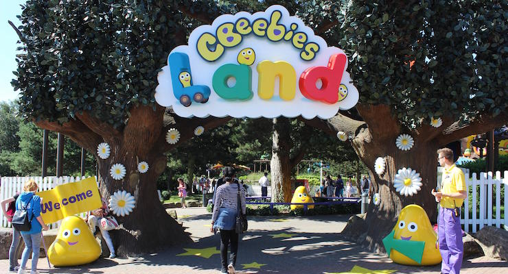 CBeebies Land, Alton Towers. Copyright Gretta Schifano