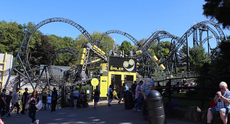 Smiler, Alton Towers. Copyright Gretta Schifano
