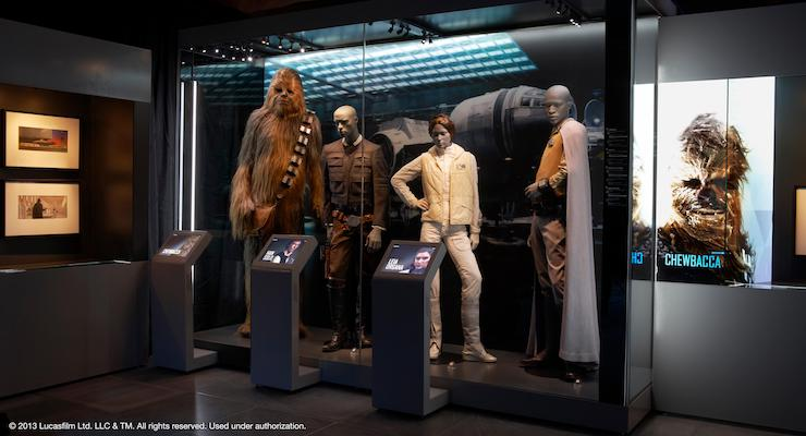Chewbacca and friends. Copyright Lucasfilm Ltd.