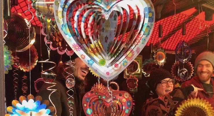 Christmas market, Leicester Square. Copyright Gretta Schifano