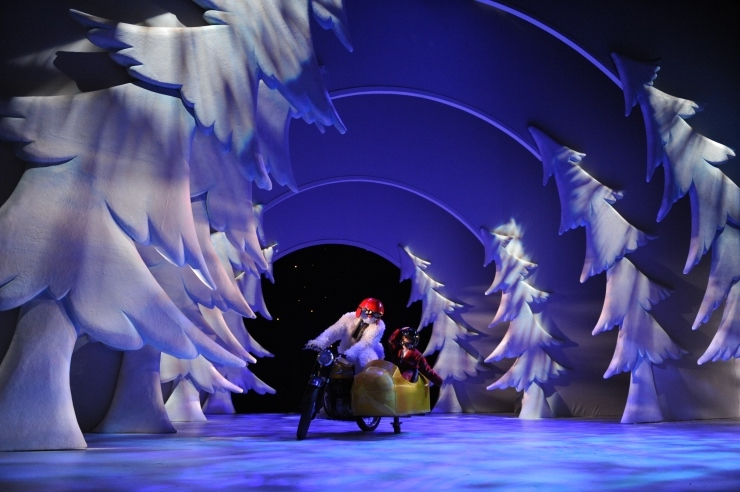 Scene from The Snowman. Image courtesy of Sadlers Wells.