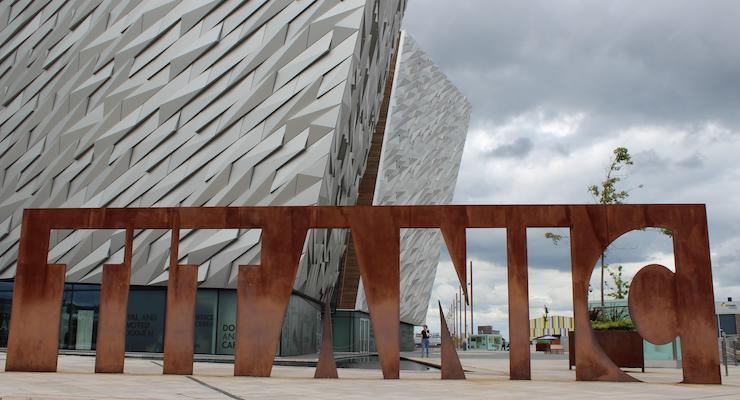 Titanic Belfast Experience. Copyright Gretta Schifano