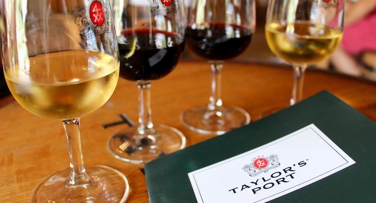 Taylor's Port Cellars, Porto. Copyright Gretta Schifano