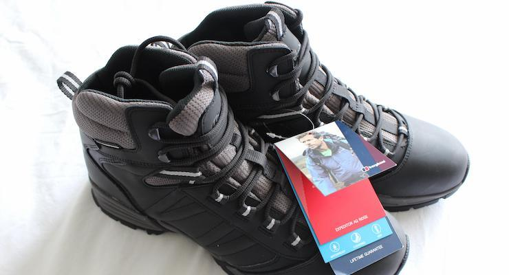 Berghaus Expeditor AQ Ridge boots. Copyright Gretta Schifano