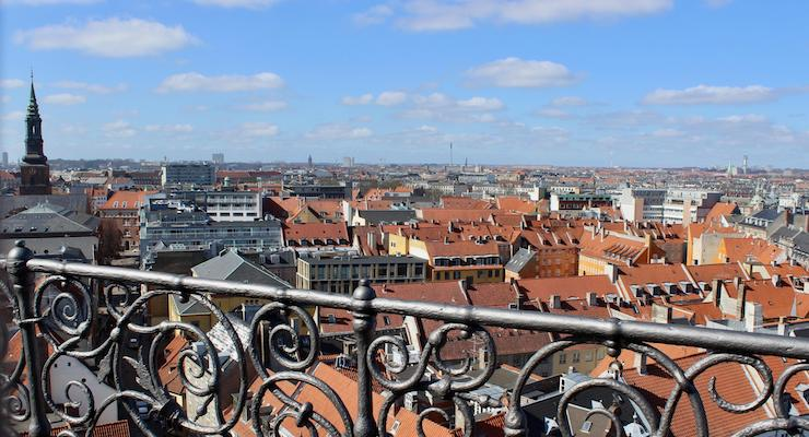 View from Round Tower, Copenhagen. Copyright Gretta Schifano