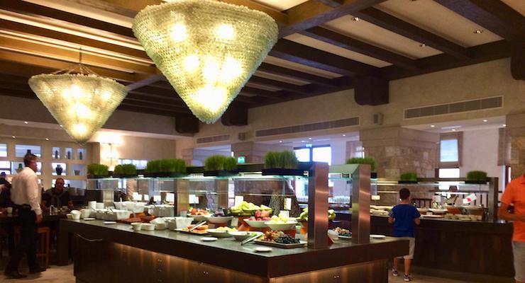 Morias restaurant, Costa Navarino. Copyright Gretta Schifano