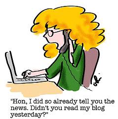 Blogger Cartoon