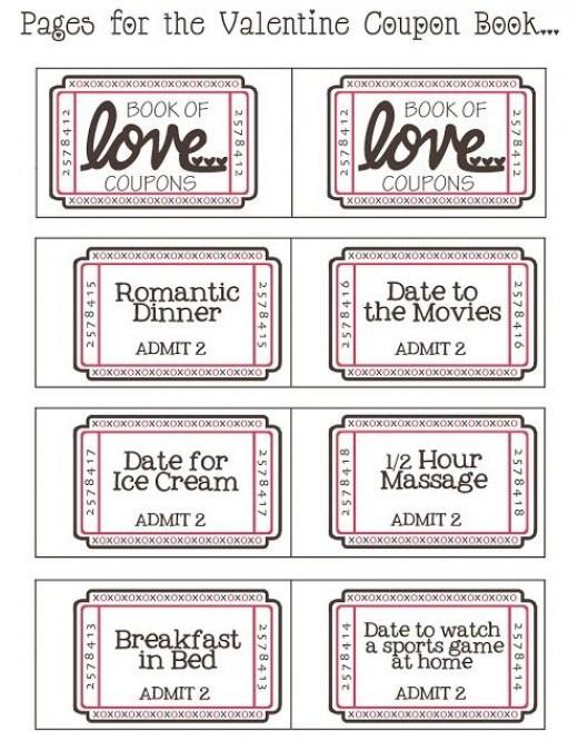 Free printable sexy coupons