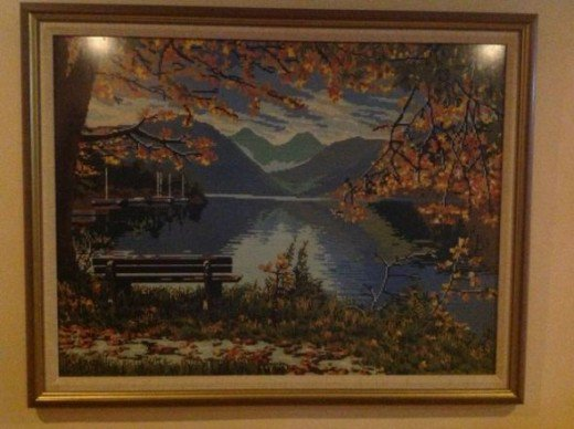 Cross Stitch Scenery