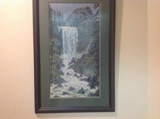 Cross Stitch Waterfall