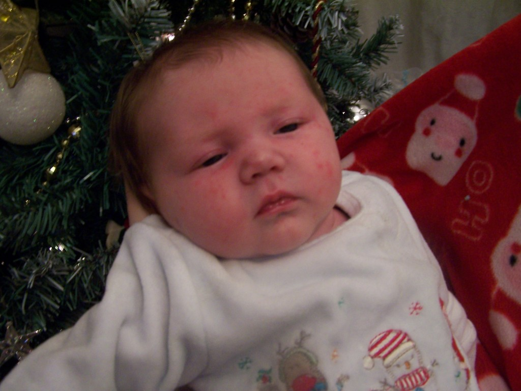 Happy First Christmas Isabelle! 6