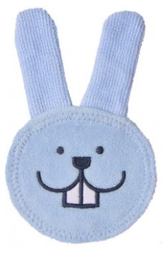Review - MAM Oral Care Teething Rabbit in Cloth 4