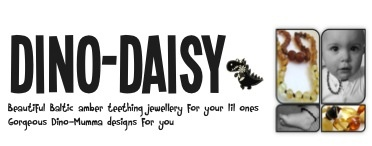 Dino Daisy Amber Teething Necklace - Winner Announcement 1