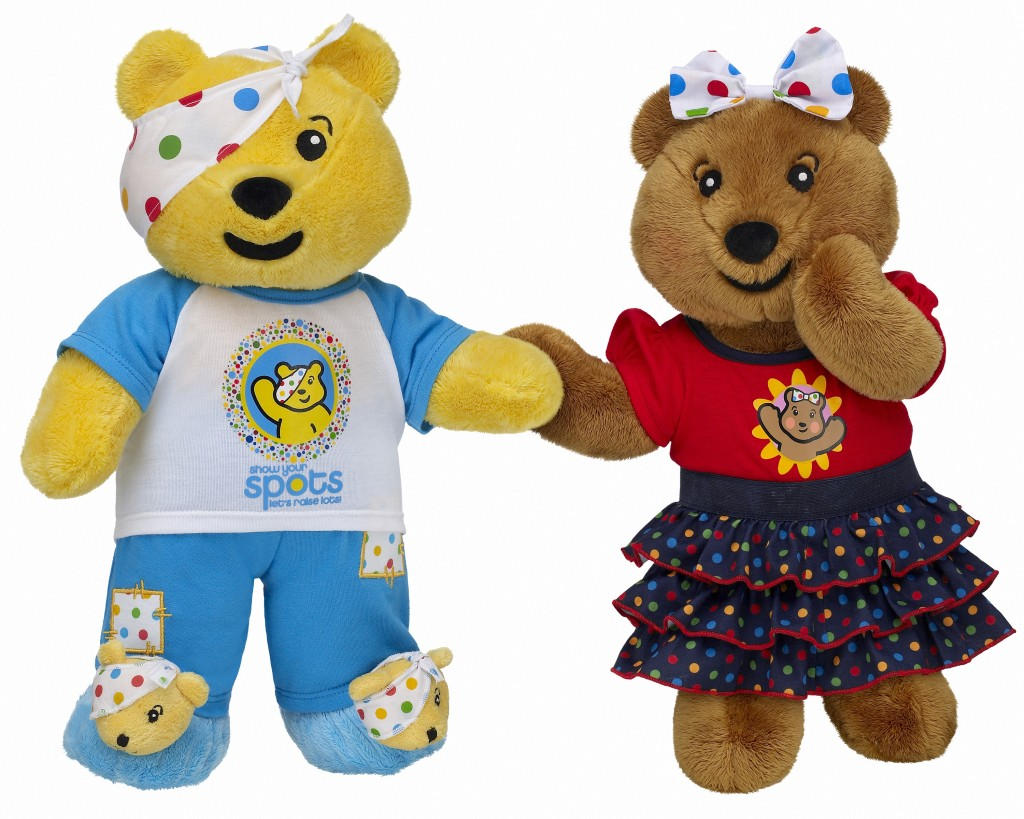 Make your own Pudsey Bear with Build-A-Bear Workshop 2