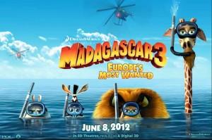 Madagascar 3, Madagascar 3 Europes Most Wanted, Dreamworks Madagascar, Madagascar