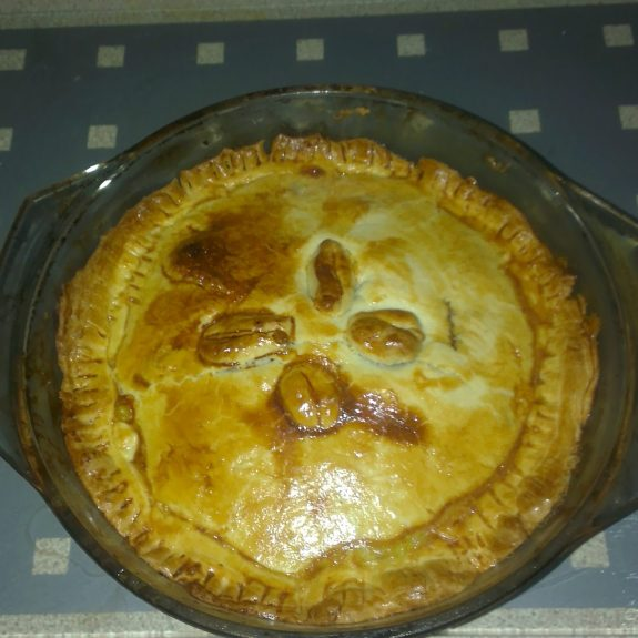 Steak and Mushroom Pie, Tesco £5 Meal, Homemade Pie, Steak Pie
