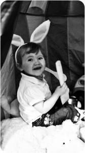 Easter, Happy Easter, Bunny Ears, Rabbit Ears, Baby with Bunny Ears